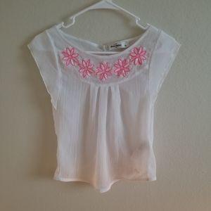 Abercrombie crepe blouse